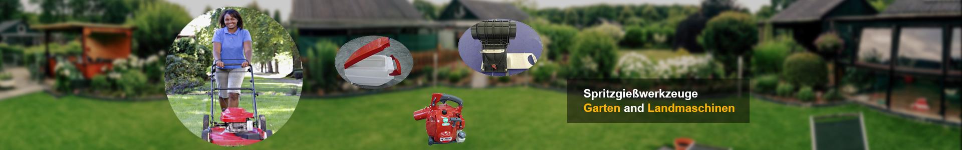 Spritzgießwerkzeuge Garten und Landmaschinen