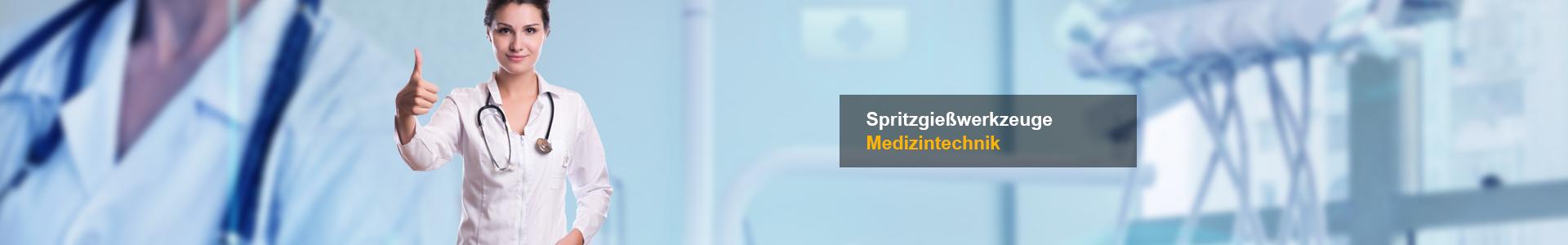 Spritzgießwerkzeuge Medizintechnik